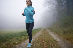 Exercício da manhã Imagem de Stock