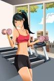 Exercício da menina Fotografia de Stock