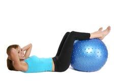 Exercício da mulher Fotografia de Stock