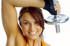 Exercício da mulher Fotos de Stock Royalty Free