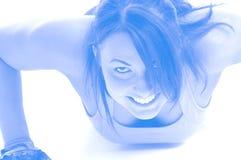 Exercício da mulher Fotografia de Stock Royalty Free