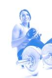 Exercício da mulher Imagens de Stock