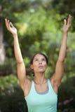 Exercício da mulher nova Imagem de Stock