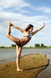 Exercício da mulher nova Fotografia de Stock