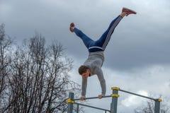Exercício da rua Imagens de Stock