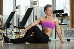 Exercício de Pilates Imagem de Stock Royalty Free