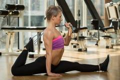 Exercício de Pilates Imagens de Stock Royalty Free