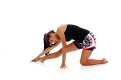 Exercício do adolescente Fotos de Stock