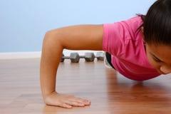 Exercício do adolescente Fotografia de Stock Royalty Free