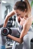 Exercício do bíceps imagem de stock royalty free