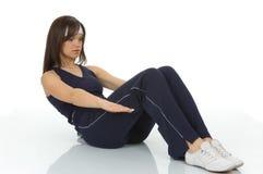 Exercício do corpo Imagens de Stock