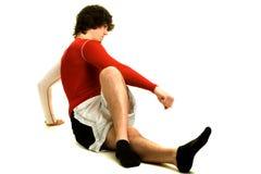 Exercício do homem novo Foto de Stock