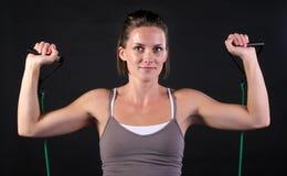 Exercício do ombro Fotografia de Stock Royalty Free
