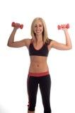 Exercício do peso da mão Fotos de Stock