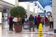 Exercício dos povos interno Fotografia de Stock