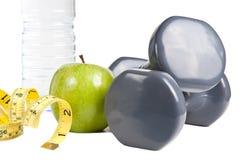Exercício e dieta saudável Fotografia de Stock Royalty Free