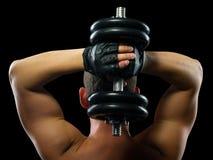 Exercício físico na força de Fotografia de Stock