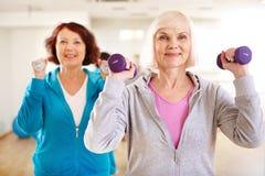 Exercício feliz Foto de Stock