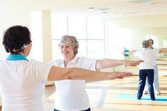 Exercício junto Foto de Stock