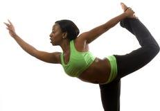 Exercício latino-americano bonito do americano africano Imagens de Stock