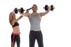 Exercício motivado Fotos de Stock