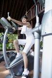 Exercício na ginástica Fotografia de Stock