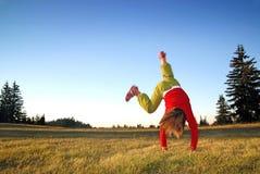 Exercício na natureza Imagem de Stock Royalty Free