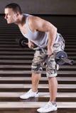 Exercício pesado Fotografia de Stock