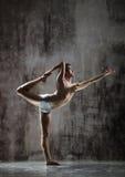 Exercício Yogic fotografia de stock