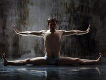 Exercício Yogic Imagem de Stock Royalty Free