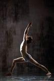 Exercício Yogic Foto de Stock Royalty Free