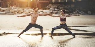 Exercício Yooga Zen Relaxation Concept da energia do equilíbrio imagens de stock royalty free