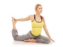 Exercícios da ginástica aeróbica Fotografia de Stock Royalty Free