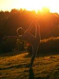 Exercícios da manhã Foto de Stock Royalty Free