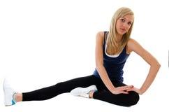 Exercícios de estômago Fotos de Stock Royalty Free
