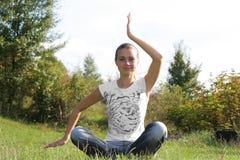 Exercícios físicos Foto de Stock