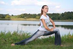 Exercícios físicos Imagem de Stock Royalty Free