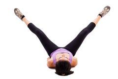 Exercícios para os pés Fotos de Stock Royalty Free