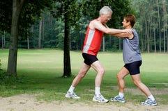 Exercícios Running - 2 Imagens de Stock
