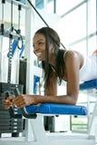 Exercício bonito da mulher Fotos de Stock
