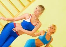 Exercício das mulheres Fotografia de Stock