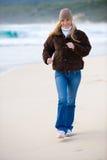 Exercício do inverno Foto de Stock Royalty Free