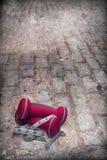 Exercício urbano tardio Imagem de Stock Royalty Free