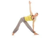 Exercícios da ginástica aeróbica Fotos de Stock