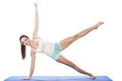 Exercícios da ginástica aeróbica Fotografia de Stock