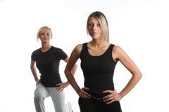 Exercice aérobie Images libres de droits