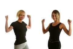 Exercice aérobie Photographie stock