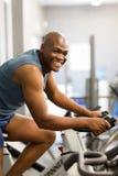 Exercice africain d'homme Photos stock