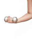 Exercice de Dumbell sain photos stock