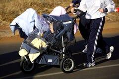 Exercice de famille Images libres de droits